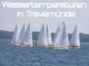 Wassertemperaturen Travemünde